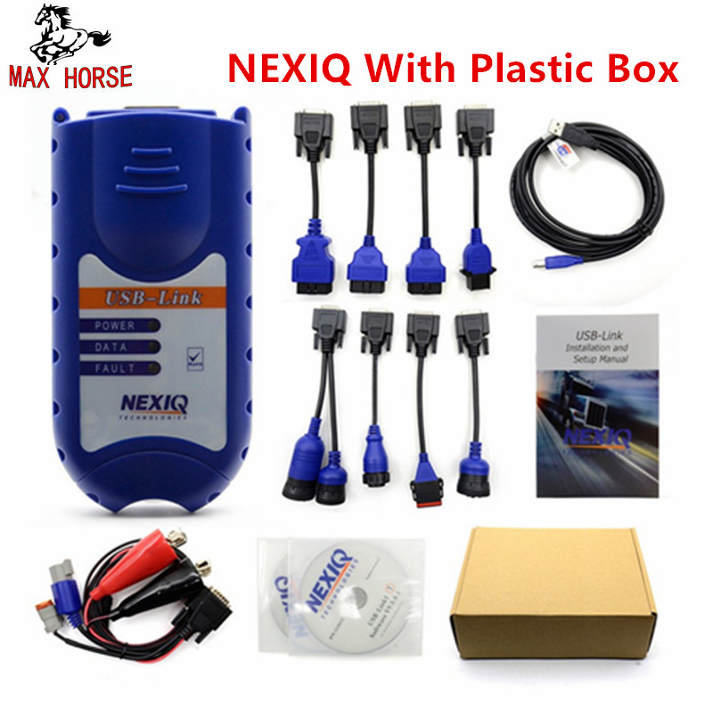 XTruck USB Link 125032 Heavy Duty Vehicle Interface Truck Diagnosis Software with All Installers Same as Nexiq