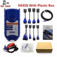 XTruck USB Link 125032 Сверхмощный автомобиль Интерфейс грузовик диагноз программное обеспечение со всеми установщиков же как Nexiq
