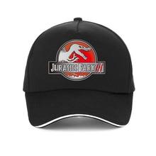 Cool JURASSIC PARK Print Baseball cap Men woman Cartoon caps 100%cotton Casual Hip Hop hat Jurassic World snapback hats bone все цены