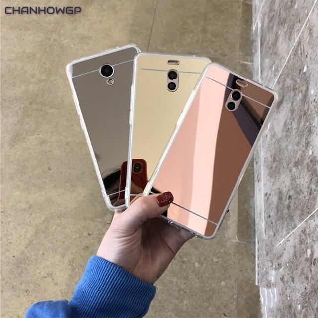 Роскошный мягкий силиконовый чехол с зеркальной поверхностью для телефона Meizu M6 M5 M5S M3 M3S капа, полное покрытие, для Meizu M6 Note M5 Примечание M3 Примечание M3 мини MX6 Funda