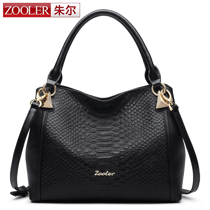 0-profit ZOOLER high quality genuine leather bag luxury soft top handle woman bag shoulder bags bolsa feminina#1116