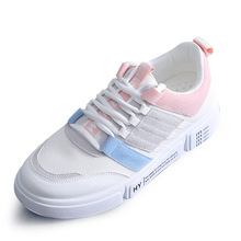 Women shoes 2018 New fashion tenis feminino light breathable mesh leather surface shoes women casual shoes women sneakers