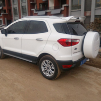 For Ford EcoSport 2013 2014 2015 2016 Car Decoration ABS Plastic Unpainted Primer Color Modified Wing Rear Trunk Spoiler