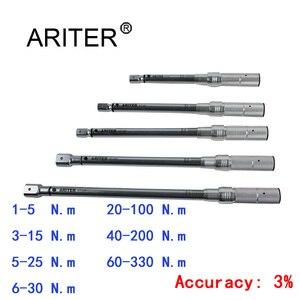 ARITER PROMOTION 1-330 Н. М динамометрический ключ Высокоточный сменный дизайн головки, велосипедные автомобильные механические профессиональные ин...