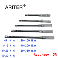 ARITER PROMOTION 1-330 N. m 토크 렌치 고정밀 교체 헤드 디자인  자전거 자동차 기계 전문 도구