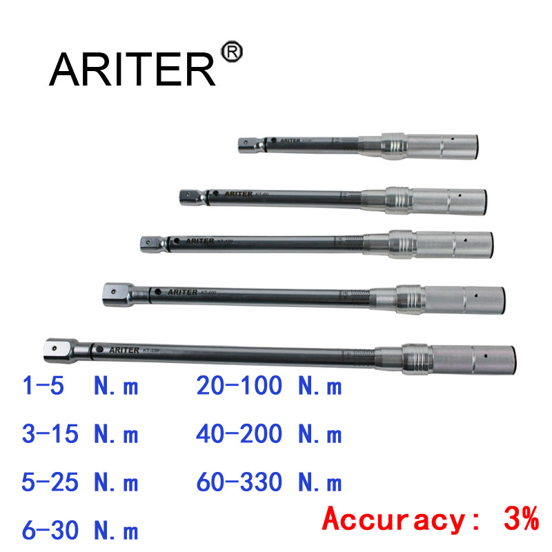 ARITER PROMOTION 1 330 N.m Torque Wrench High precision replacement head design  Bike Car Mechanical Professional tools|Wrench| |  - title=