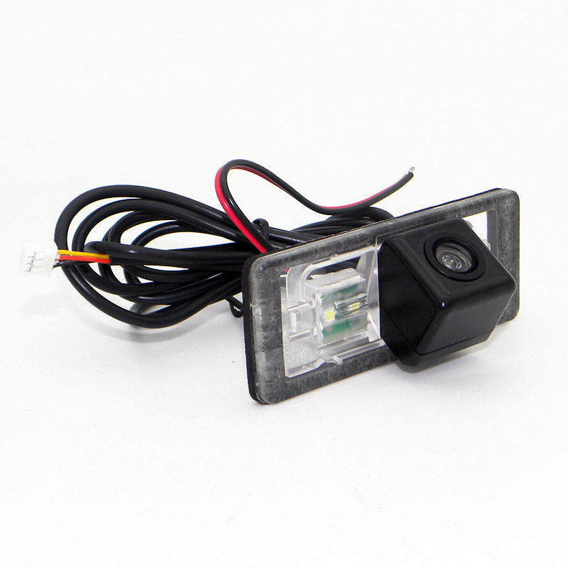 Laijie Car Rear View Camera For Audi A3 S3 RS 3 Q3 RS3 RSQ3 (8V, 8U) / HD CCD Auto Reversing parking Camera / NTSC RCA