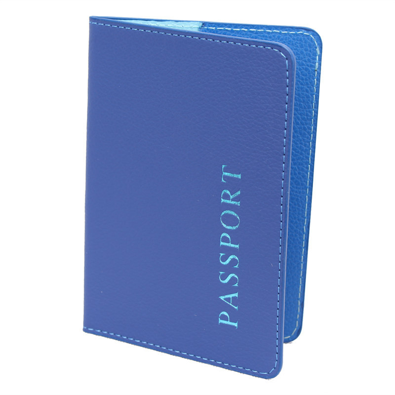Unisex Passport Cover Faux Leather Travel Passport ID Holder Cover Men Women Card Case Man Cards Holder Carteira Feminina