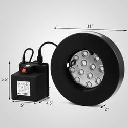 Russia Free Shipping ! 12 Head Ultrasonic Mist Maker Humidifier & Float