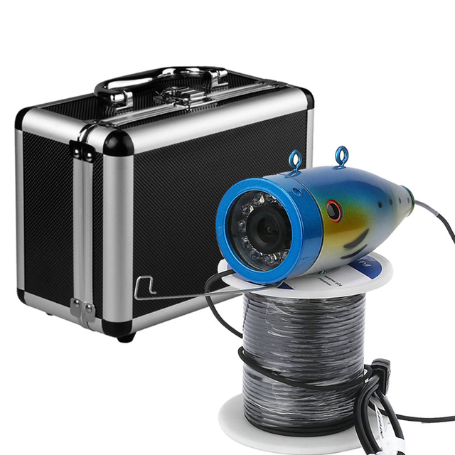 Special Offers Professional 2.4G WIFI Wireless 20M HD 1000TVL Resolution 12pcs White LED Underwater Fishing Camera Video Recorder Fish Finder