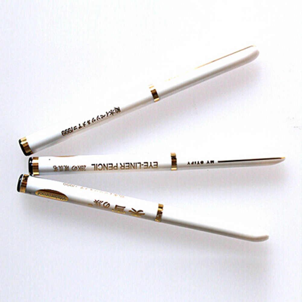 2018 przyjazd nowe mody wysokiej jakości wodoodporna kredka do oczu piękno oczu ołówek makijaż kosmetyczne Eyeliner czarny 1 sztuk