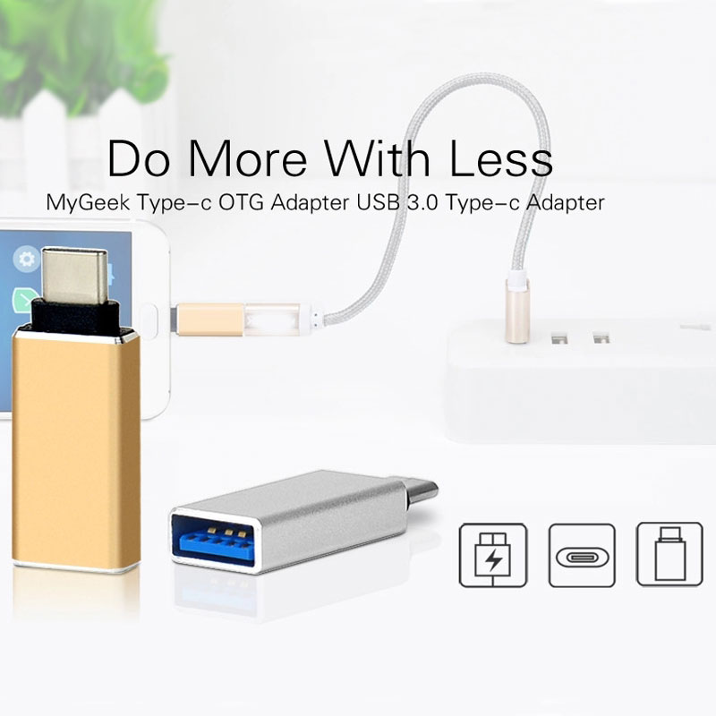Usb Sort C Otg Adapter Male To Usb3.zero Feminine Adapter Sort-C To Usb Converter For Macbook Nexus Nokia N1 For Samsung S8 Plus