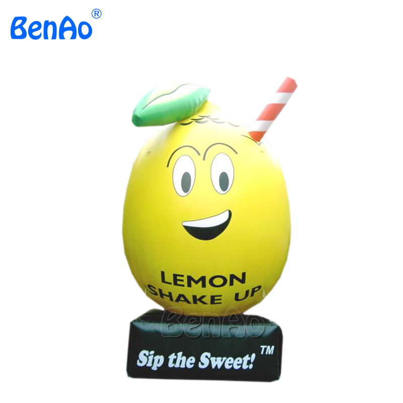Z020 Free shipping inflatable advertising product lemon model inflatables for promotion with logo,customized inflatable fruit ad41 dhl free shipping 10ft 3m dancing inflatable advertising man mini sky dancer inflatable air dancer costume for advertising