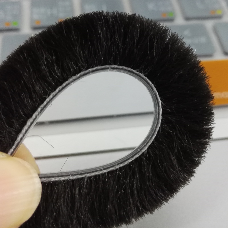 Hairy Door and Window Brush Draught Excluders Pile Seal Draft Strip 5mm//6mm//7mm