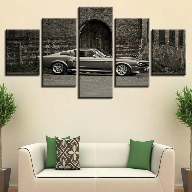 Modern Canvas Living Room Frame HD Home Decor Printed 5 Panel ...