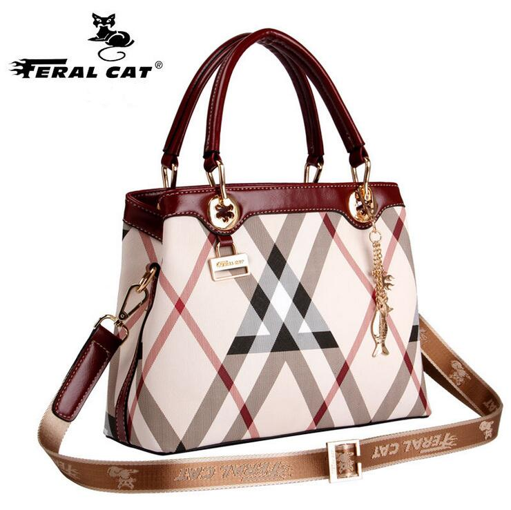 FERAL CAT Luxury Handbags Women Bags Famous Designer Leather High Quality Girl Shoulder Bags Female Crossbody Messenger Bag vintage women bag high quality crossbody bags luxury designer large messenger bags famous brands female shoulder bag tassen flap