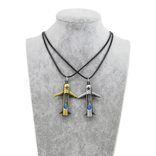 Original New Novelty Hourglass Retro Gold Plane Men Pendant Vintage Leather Chain Choker Necklace Women Jewelry Gift