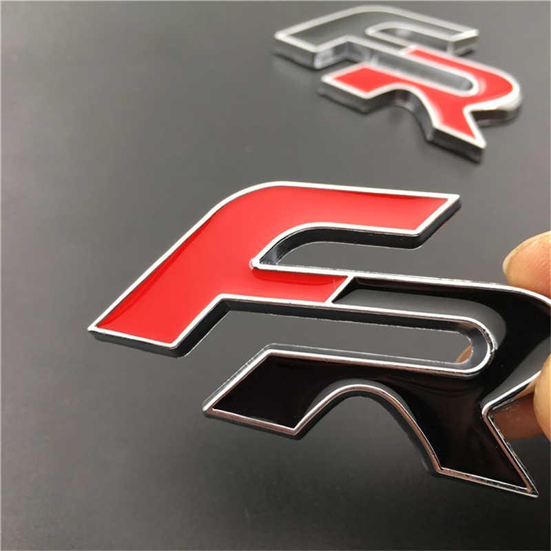 Zcbm 6.5*4 Cm 3D Mobil Stiker dan Stiker Mobil Stiker Kursi FR untuk Audi untuk BMW Aksesoris Autocollant de Voiture