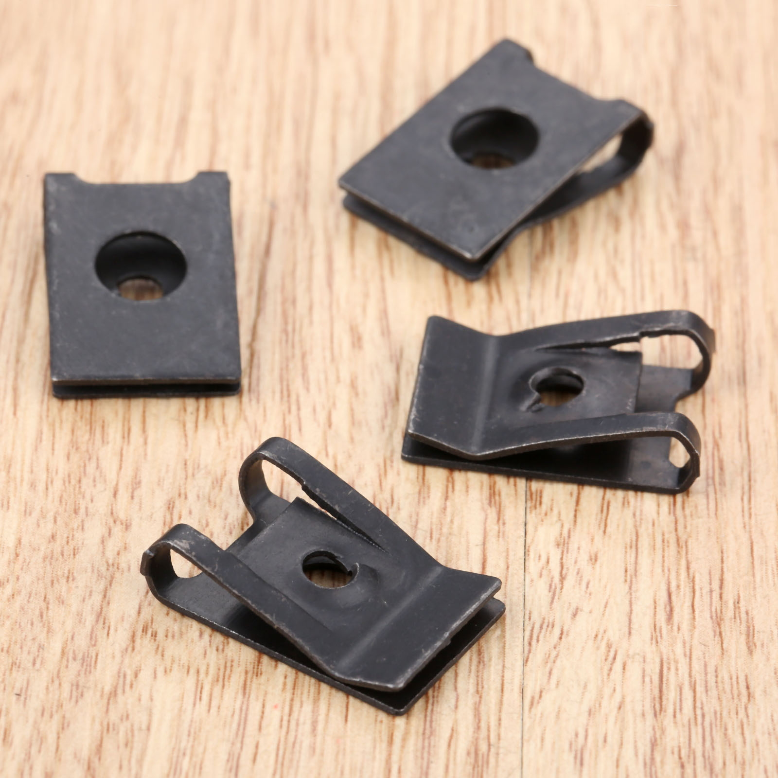 Image 5 - 20Pcs M3 Car Fastener Clip Automobile Engine Fender Bumper Guard U Type Screw Base Clips Nut Mounting Fastener Clamp-in Auto Fastener & Clip from Automobiles & Motorcycles