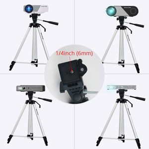 Image 5 - BYINTEK Projector Tripod,Original Portable Aluminum alloy Telescopic, for UFO P10 P12 P9 R15 R19 U20 R7 R9 SKY K1 K7 K2 K9