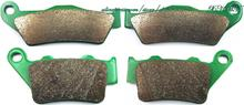 Brake Pads Set for HUSQVARNA TE400 TE 400 EDUAL ENDURO 1998 &up/ TE410E TE410 TE 410 E 2000 &up/ TE450 TE 450 2003 2004 2005(China)