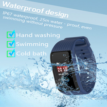 2019 inteligentny bransoletka Fitness Tracker inteligentne nadgarstek wodoodporny kolorowy ekran tętno monitor ciśnienia krwi dla androida IOS