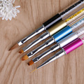 1Pcs Nail UV Gel Acrylic Dotting Design Nail Pen Drawing Brush Beauty Painting
