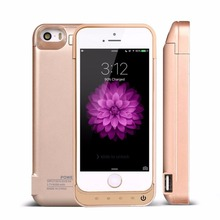 4200mAh Power Bank Case Phone cases External Battery Pack Backup Charger Case For iPhone 5s 5
