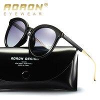 AORON Brand Designer Women's Sun glasses Polarized Mirror Lens Luxury Ladies Sunglasses Eyewear For Women A401