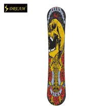 Customized Snowboards For Adult Male And Female Freestyle Carbon Fiber P-Tex Base Wooden Skiing Boards Fit