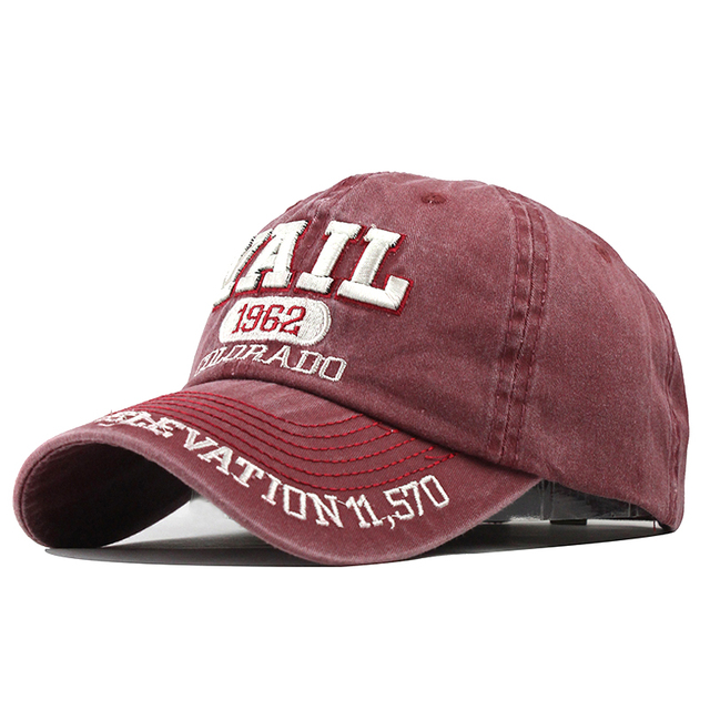 New Washed Cotton Baseball Cap