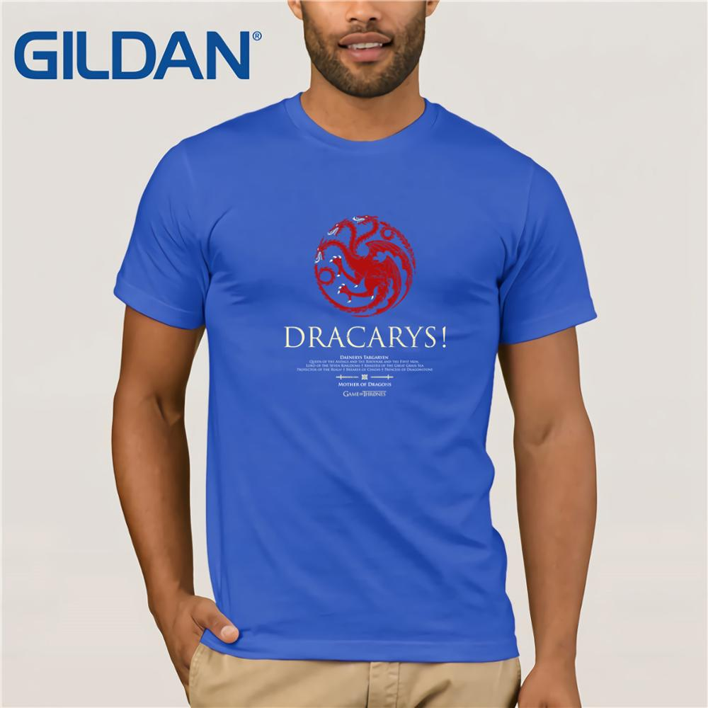 Game of Thrones Dracarys T Shirt 2019 new streetwear men 39 s short sleeved T shirt in T Shirts from Men 39 s Clothing