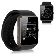 Smart watch gt08 bluetooth reloj sport soporte multi idiomas usable dispositivos para ios android smartwatch podómetro