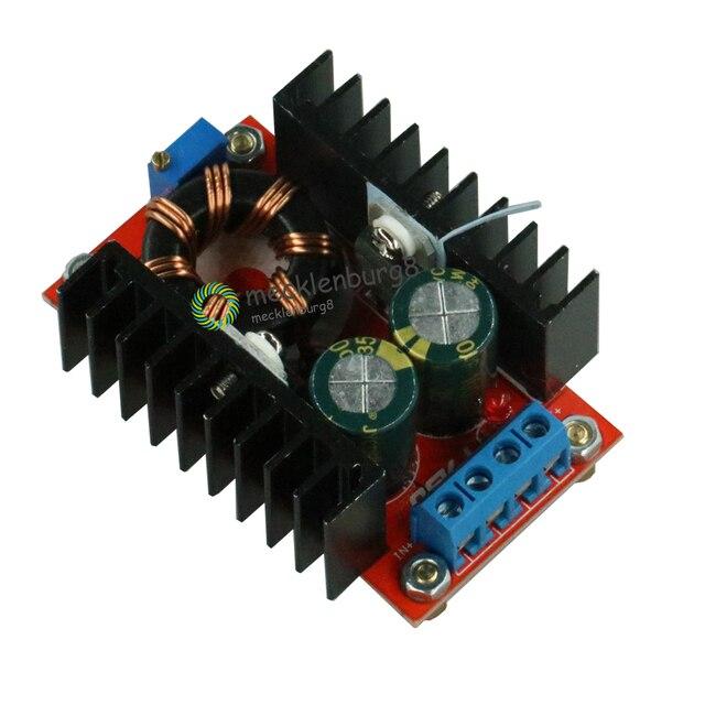 150 ワット DC DC 昇圧コンバータ 10 32 V 12 35 V 6A にステップアップ電圧充電器の電源