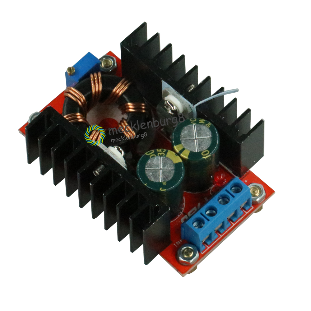 150 W DC-DC Boost Converter 10-32 V to 12-35 V 6A Step Up Voltage Charger Power