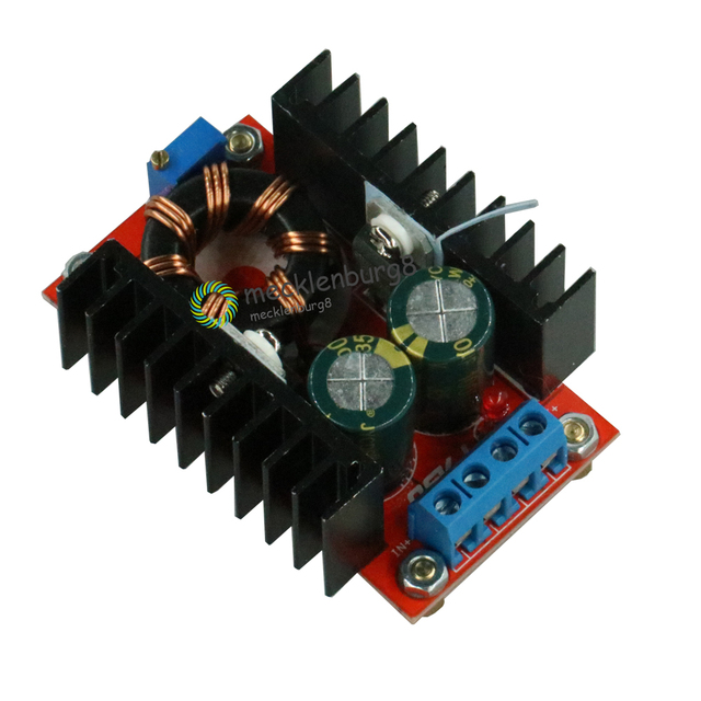 150 W DC DC Boost Converter 10 32 V to 12 35 V 6A Step Up Voltage Charger Power