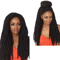 Crochet Braid Havana Mambo Hair Senegalese Twist Kinky Braiding Hair 18'' Synthetic Jumbo Curly Crochet Braids Hair
