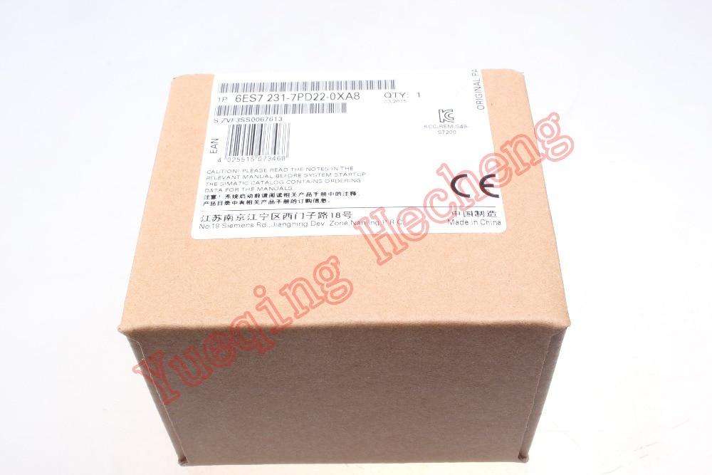 New In Box for Siemens PLC 6ES7 231-7PD22-0XA8 6ES7231-7PD22-0XA8 AU 6es7223 1bl22 0xa8 6es7 223 1bl22 0xa8 with free dhl