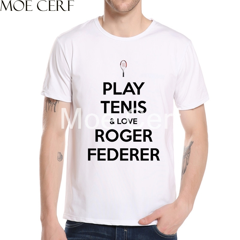 2018 fashion roger federer logo mens t shirts summer short sleeve 2018 fashion roger federer logo mens t shirts summer short sleeve 3d printed tee streetwear style brand men clothing l10 h 56 in t shirts from mens voltagebd Choice Image