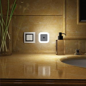 Image 3 - Thrisdar Light Sensor LED Night Light โคมไฟ EU/US ปลั๊กไฟ 0.5 วัตต์ห้องนอนข้างเด็ก nursery Light