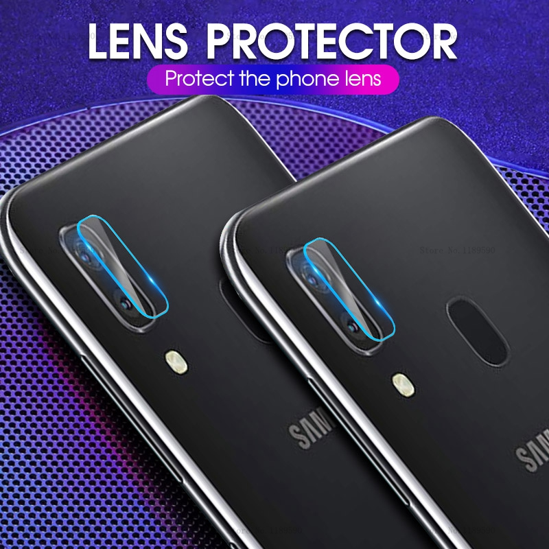 2Pcs For Samsung Galaxy A40 A60 A70 A10 M20 M30 A20 M10 M40 A20E A50 A30 Camera Lens Film Protector Tempered Glass Protection