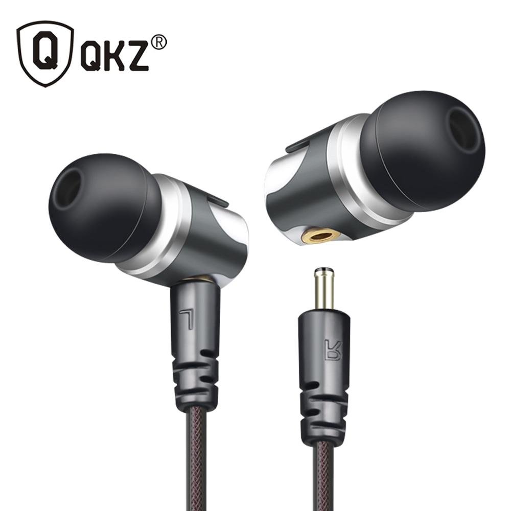 หูฟังQKZ DM4ในหูหูฟังแบบไดนามิกกับไฮบริดหน่วยไฮไฟหูฟัง