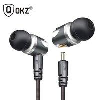 Earphone QKZ DM4 In Ear Earphone Dynamic With  Hybrid Unit HIFI Earphone Earbud Headset With MMCX Interface Cable