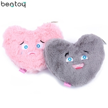 Bentoy Cute Heart Women Bag Embroidery Cartoon Coin Purse For Girls Plush Zippered Purse Bank Card Holder Mini Organizer Pouch