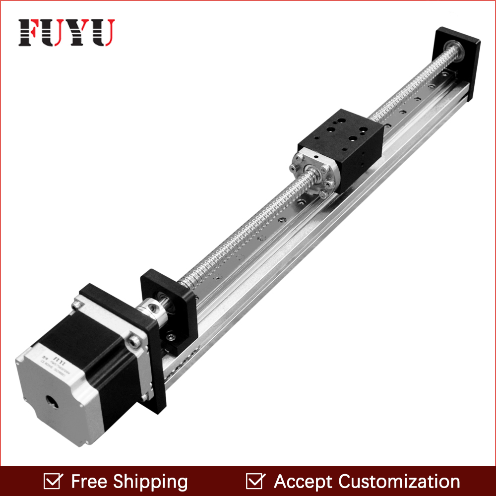Free shipping Sichuan 250mm effective length Aluminium Linear Guide Price From Chinese Manufacturer 1 piece free shipping anodizing aluminium amplifiers black wall mounted distribution case 80x234x250mm