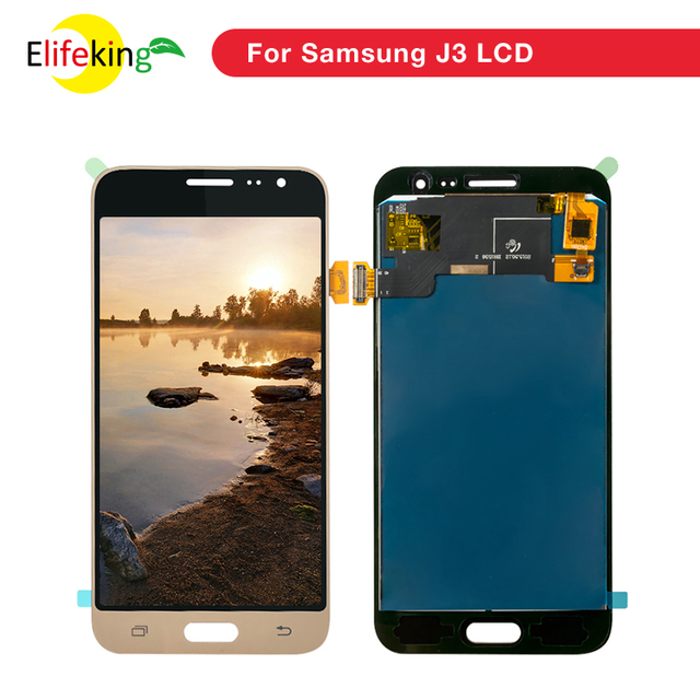 1PCS J320 LCD For Samsung Galaxy J3 2016 LCD J320F J320M  J320H LCD Display Touch Screen Digitizer Assembly Free Repair Tools