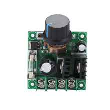 PWM DC Motor Speed Controller 9V-50V 10A PWM DC Motor Governor High Power Stepless Variable Speed Controller motor controller brushless motor controller for dc12v 30a high power brushless motor speed controller dc 3 phase regulator pwm