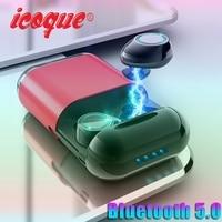 Wireless TWS Earphone Bluetooth Headphones Sport 5.0 Stereo Earbuds Mic Charging Box Blutooth Headset In Ear Bluetooth Earphones