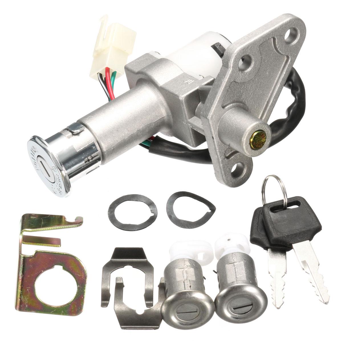 Zündschlüssel Lock Set Für 50cc 125cc 150cc GY6 Moped Motorrad Roller
