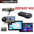 1 pcs M2 EzCast Miracast Dongle TV vara DLNA Miracast Airplay MirrorOP para janelas ios andri0d não caixa de tv android